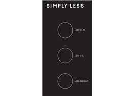 LESS - teglet med de hållbara fördelarna