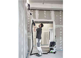 PLANEX vägg- och takslip, optimal för oergonomiskt arbete