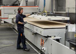 Prefabricerade kyl- och frysrum i fabrik