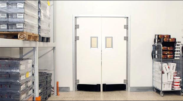 Prefabricerade modulbyggda kyl- och frysrum med brandklassning