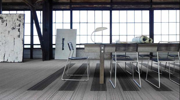 Textila golvplattor med mindre klimatpåverkan