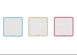 Renson Sense Inneklimatmätare med färgvisualisering