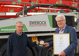 Nordbyggs guldmedalj 2020 gick till ECO-betong från Swerock