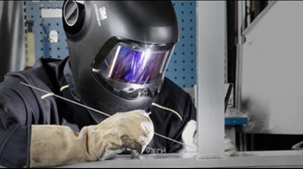 3M™ Speedglas™ - Den första svetshjälmen med välvt glas