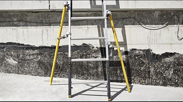 Nytt utbud av stegar med förbättrad säkerhet