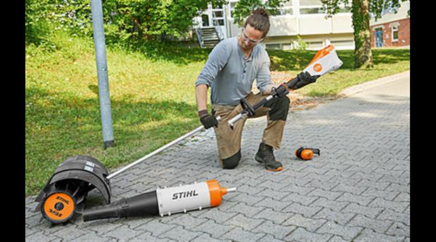 Nya maskiner för park- och grönyteskötsel