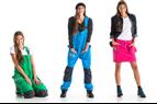 Färgstarka hantverkarkläder för tjejer