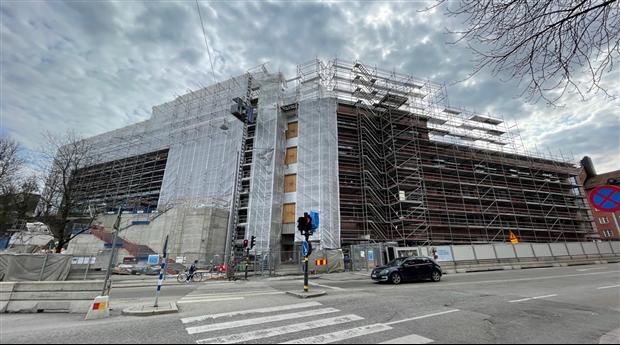 Byggloven för offentliga lokaler skjuter i höjden