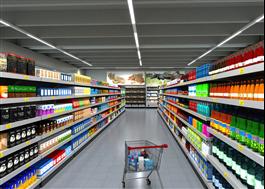 Phi Linear, kontinuerlig installation för butiksmiljö