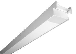 Phi modul anpassad för Tego-systemtak i butik.