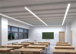 Phi Vision, allmän- och arbetsstationsbelysning i kontor och skolor.