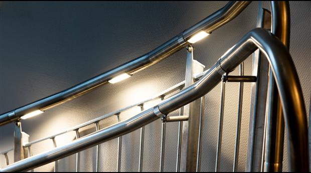 Welands handledare med LED-belysning