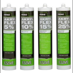 Ny produktserie inom akrylbaserad fogmassa