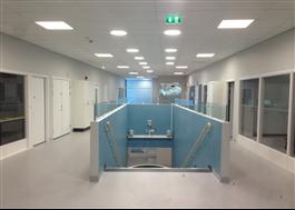 Solatube med LED-hybrid, skola, Varberg
