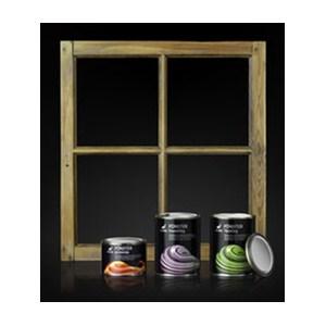 Vattenburen fönsterfärg för bättre miljö