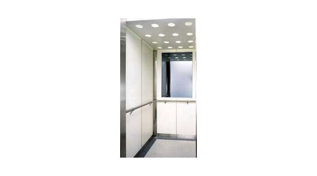 Energibesparande hisskorgsbelysning