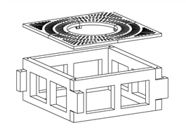 Planteringslådor i betong