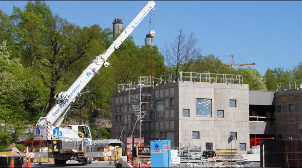 Industrifakta spår inbromsad tillväxttakt på byggmarknaden
