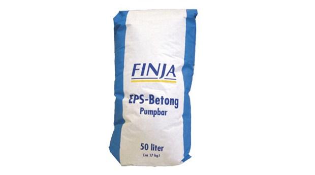 Färdigblandad EPS-Betong i säck