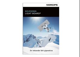 Norgips Light Board Produktblad