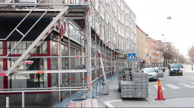 Kapacitetsbrist bakom minskat byggnadsunderhåll 2016-2018?