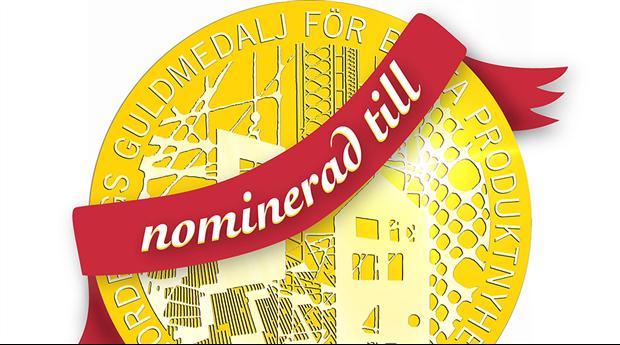 Rösta fram Nordbyggs guldmedalj för årets bästa produktnyhet!