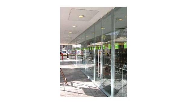 Rambyggda helglaselement för dörrar och väggar