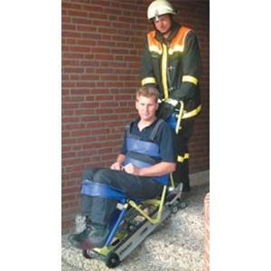 Enkel evakuering med trappklättrare