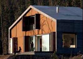 Viroc på fasad och tak