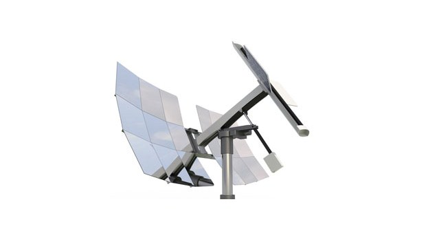 Koncentrerade solstrålar ger billigare el och värme