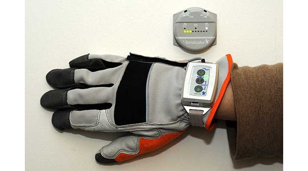 Vibrationsmätare ska hjälpa byggnadsarbetare