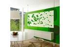 Flyttbar vägg för flexibla kontor