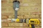 Fogspruta förenklar omfogning av murverksfogar