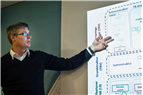 Fredrik Ekström, Trafikverket, är en av drygt 150 specialister som under nästan ett och ett halvt år arbetet med att utveckla CoClass. Foto: Teddy Johansson