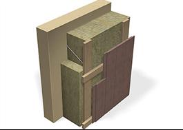Isolering för ventilerade fasader - Klimatskiva ZERO