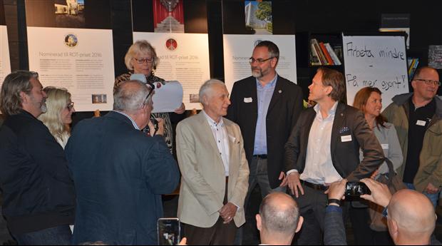 Bergrumsgaraget - Vinnaren av Stockholm Byggmästareförenings ROT-pris. Foto: Harald Holm