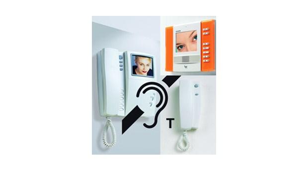 Porttelefoner med hörhjälpmedel