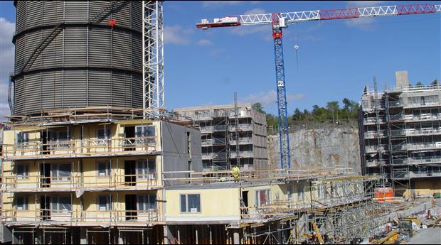 Byggmaterialvolymerna på rekordnivå i år. Foto Yvonne Brinck