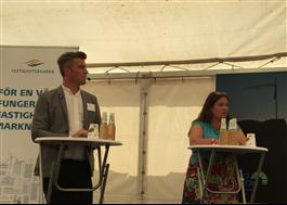Tobias Olsson, Sveriges Arkitekter och Maria Pleiborn, WSP, om flyttkedjor
