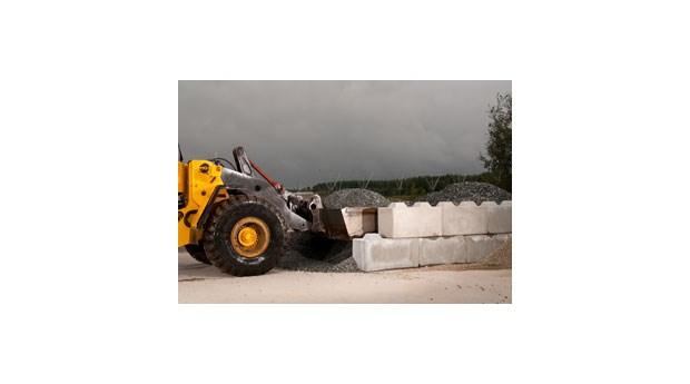 Klimatvänliga betongblock i storformat
