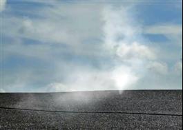 Mataki Test, rök tränger ut vid läckage