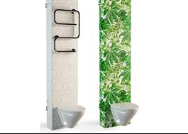 Två varianter på designad foliering