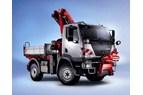Korsning av traktor och lastbil