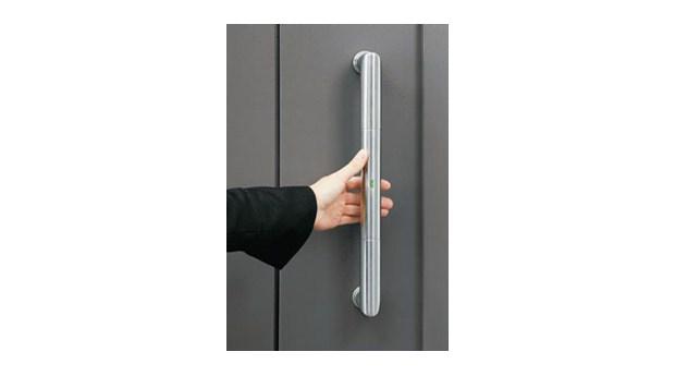 Lås upp dörren med pekfingret