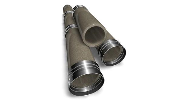 Polymerbetong ger tåligare spillvattenrör