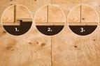 Lättmonterad plywoodskiva