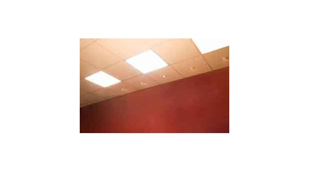 Lysdiodpanel för montering i bärverk