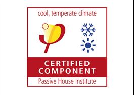 Passivhuscertifiering utfärdad av Passive House Institute, Tyskland