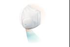 Andningsskydd med inbyggd ventilation