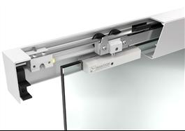 INTEC beslag för skjutdörrar av glas